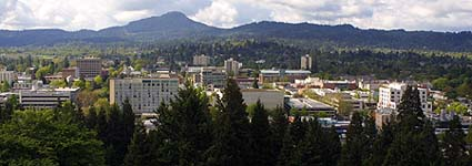 Retire to Eugene, Oregon